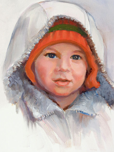 Boy in Hooded Jacket